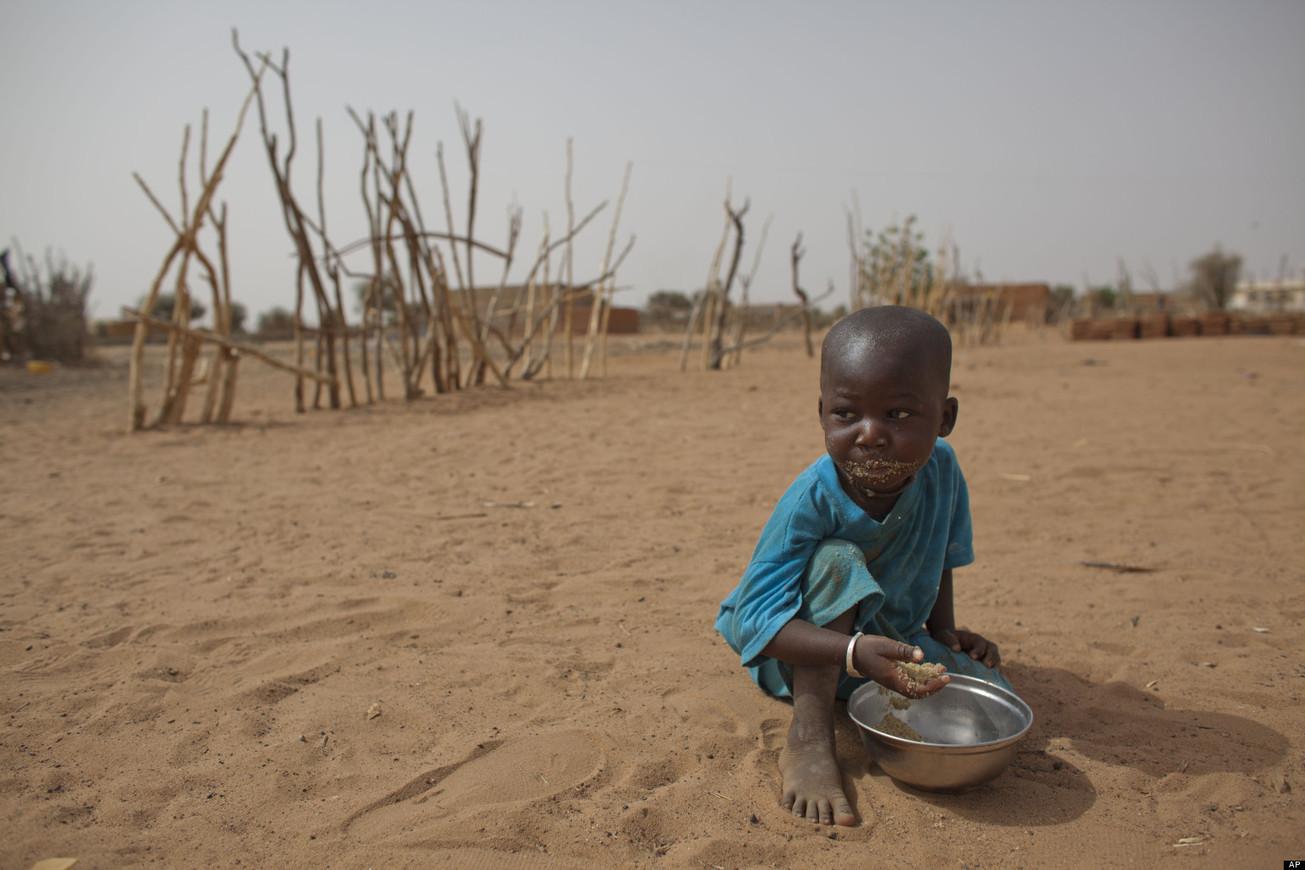 Голодающие дети Африки (21 фото) 39