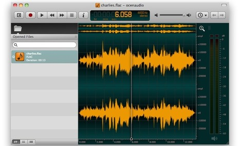 Ocenaudio Is a Free, Fast, Streamlined Audio Editor - Lifehacker | voices.... | Scoop.it