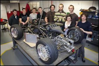 UC engineering students design and build racing car for comp - Scoop.co.nz (press release) | MECHANICAL DESIGN | Scoop.it