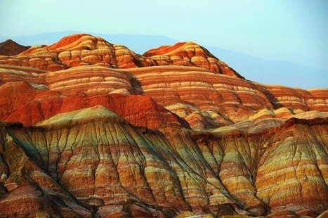 Breathtaking Photos of Colorful Rock Formations in China - My Modern Metropolis | Le It e Amo ✪ | Scoop.it