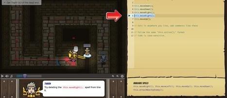 CodeCombat - Le jeu qui va vous apprendre à programmer | Informatique - MSMSC25 | Scoop.it
