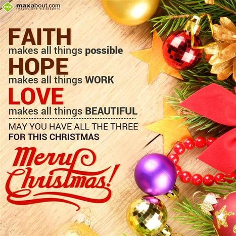 Christmas SMS, Christmas Messages, Christmas 2015 | Maxabout SMS & Greetings | Scoop.it