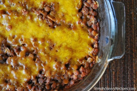 Ranch-Style Baked Lentils | Simply Savvy Recipes | Food for Thought | Scoop.it