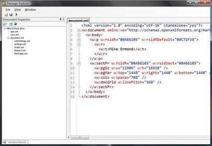 Programming Office documents with Open XML - XML tutorial - developer Fusion | .NET coding | Scoop.it