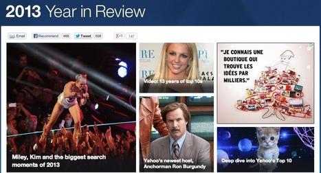 Top Mots Clés 2013 : au tour de Yahoo! US | Media - ES | Scoop.it