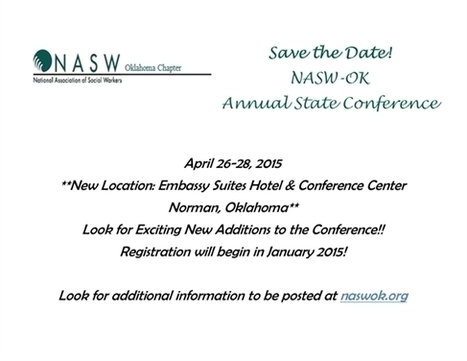 Oklahoma-Conference - NASW Heartland | social work and social welfare | Scoop.it
