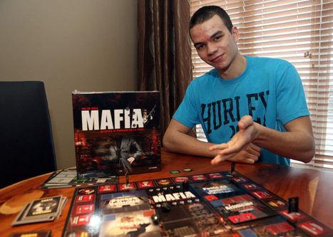 Un ado conçoit un jeu de société | Actualités | L'Information de Sainte-Julie | Jeux gratuits en ligne de mafia, gangsters et truands en tout genre | Scoop.it