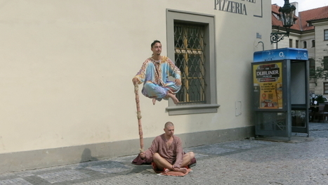 This Street Performer Has Mastered One of the Greatest Illusions | Strange days indeed... | Scoop.it
