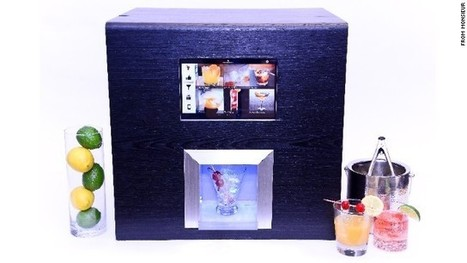'Robotic bartender' machine can mix you a cocktail   Usability   Scoop.it