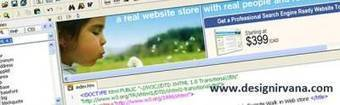 More than 5 top quality free HTML web page editors | Web Design | Scoop.it