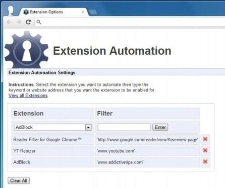 Activer automatiquement des extensions Chrome sur des sites Web particuliers, Extension Automation | Time to Learn | Scoop.it