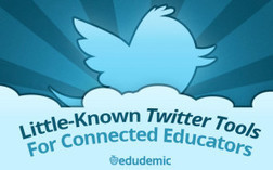 10 Little-Known Twitter Tools For Connected Educators | Mr. Frerichs's EdTech | Scoop.it