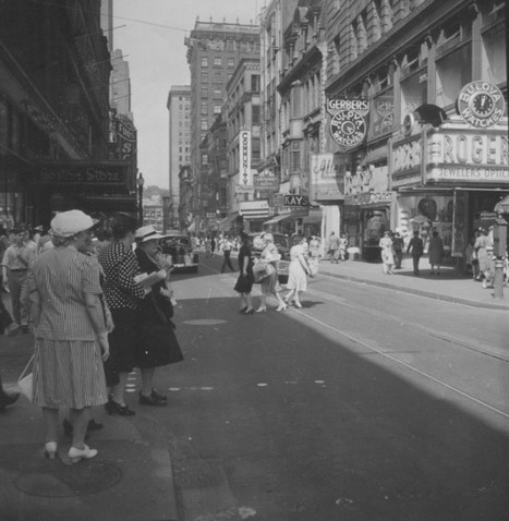 Providence, RI Downtown Providence in 1945 | Als Return to Education | Scoop.it