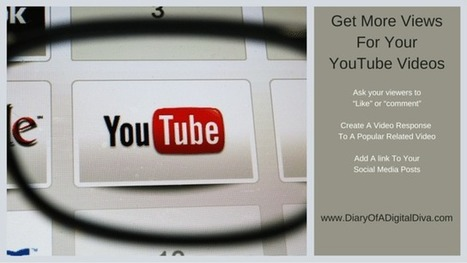 More Ways To Get More Views For Your YouTube Videos | Promote Your Passion | Scoop.it