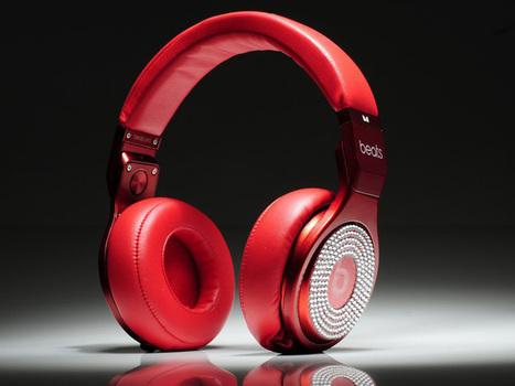 Eye-catching Monster Beats By Dr. Dre Pro White Diamond High Performance Red_hellobeatsdreseller.com | Beats V-Moda headphones | Scoop.it