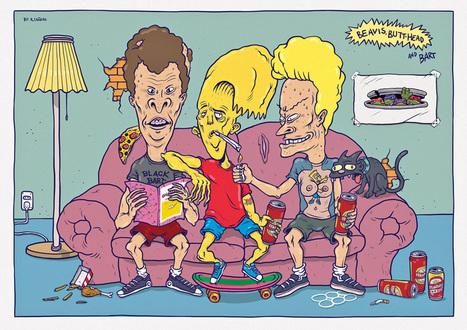 ¡Oh, chaval!, un homenaje a Los Simpsons   Ilustrada comunicacion   Scoop.it