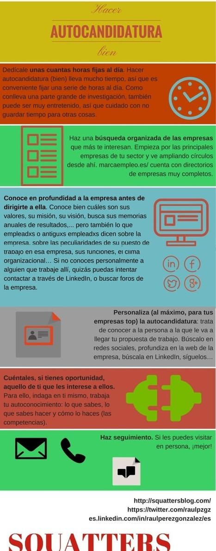 Hacer autocandidatura (bien)   Blogempleo Noticias   Scoop.it
