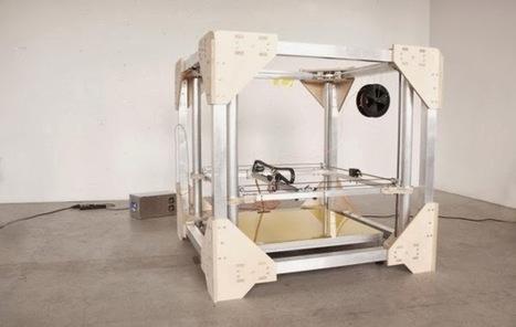 Print3d World: BigRep ONE, la impresora 3D FDM más grande hasta la fecha | Impresión 3D y fabricación digital | Scoop.it