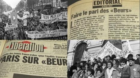 1983-2013: la Marche des Beurs vue par «Libération» | FLE et nouvelles technologies | Scoop.it