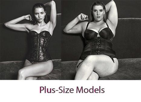 Mujeres talla XL sustituyen a célebres top models en gráficas publicitarias | Publicidad | Scoop.it