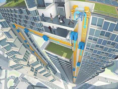 Magnetically Levitating Elevators Could Reshape Skylines | Interesting Reading | Scoop.it