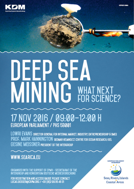 Deep-Sea Mining – What next for science?-Conférence | Marine Mineral Resources | Scoop.it