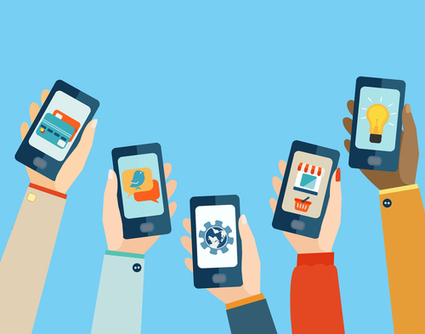 How to Maximize Your Mobile App Marketing with Social Media | Web design- promoting your Website | Scoop.it