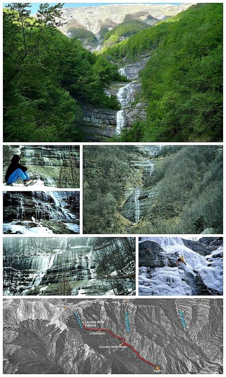 Escursioni nelle Marche: Cascate della Volpara (Monti della Laga) | Le Marche un'altra Italia | Scoop.it
