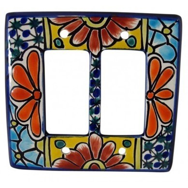 Talavera Double Rocker | Talavera Mexican Pottery | Scoop.it