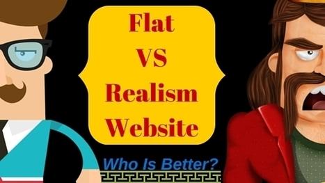 Flat VS Realism Website : Who Is Better?   Web   Scoop.it