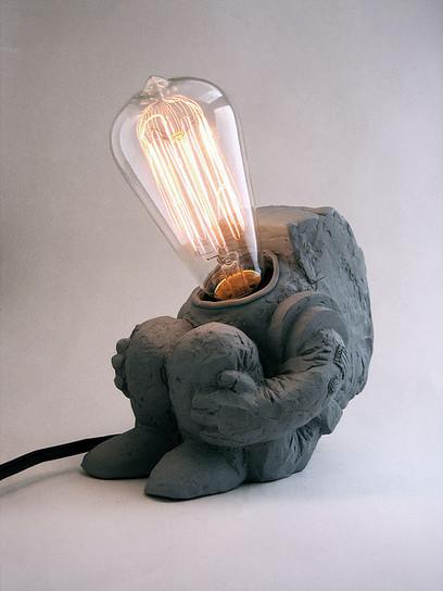 Little Spaceman Lamp by Matthew Borgatti   Industrial Design   Scoop.it