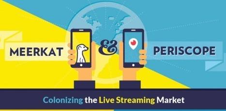 Geek &Social Meerkat et Periscope : définition, chiffres et usages | Clic France | Scoop.it