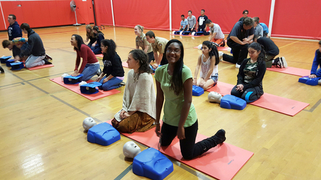 Southold students get training in hands-only CPR - Suffolk Times   News & Stories   Scoop.it