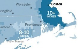 Expected Snowfall in the Northeast | albaladejo | Scoop.it