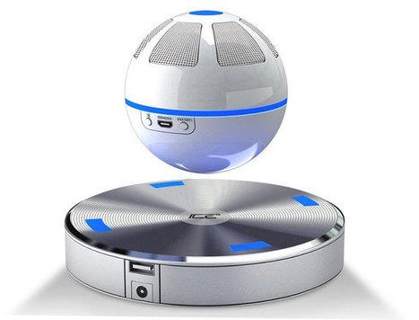 Ice Orb. Un altavoz Bluetooth flotante que usaría Darth Vader. | Mil Ideas | Decoración de interiores | Scoop.it