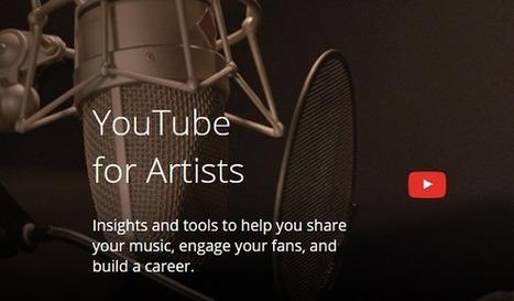 Quand Youtube for Artists se destine à promouvoir les artistes indépendants - #Arobasenet | Art et Culture, musique, cinéma, littérature, mode, sport, danse | Scoop.it
