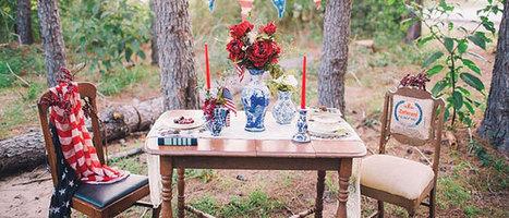 Une deco de table américaine - DIY Déco | Décoration de Mariage, Baptême et déco de table | Scoop.it
