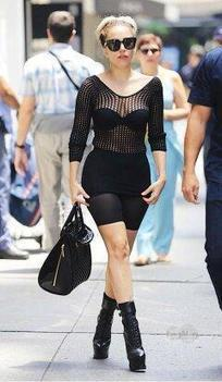 Twitter / GonzaMonster: Lady Gaga yesterday in the ... | RandomFamous | Scoop.it