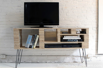 DIY : fabriquer un meuble TV | DIY DIY | Scoop.it