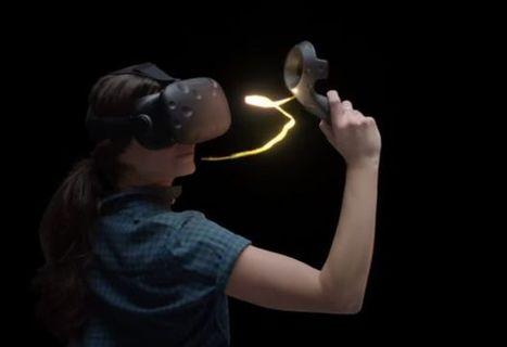 Virtual reality meets digital art: Google's Tilt Brush | Ed Tech Integration | Scoop.it