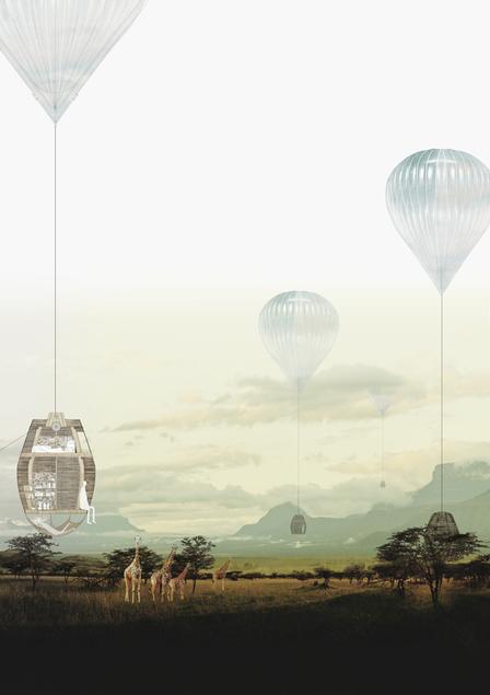 Propuesta Heat-Wind-Hang, tercer lugar en concurso IWC África / Sudáfrica   The Architecture of the City   Scoop.it