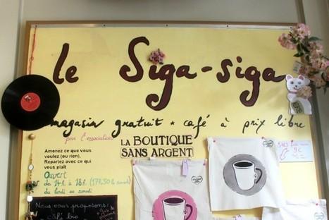 Les Inrocks - Le Siga-Siga : la première boutique parisienne entièrement GRATUITE | Le BONHEUR comme indice d'épanouissement social et économique. | Scoop.it