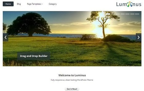 20 Fresh WordPress Themes: Edition July 2013 - noupe   CMS   Scoop.it