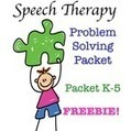 Speech Therapy Problem Solving Scenarios & Graphic Organizer {FREE!} | Transform Lives through Speech Therapy | Scoop.it