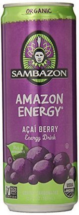 SAMBAZON Organic Amazon Energy Drink, 12 Ounce Cans (Pack of 24) | Best Energy Drinks Daily | Scoop.it