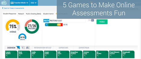 5 Games to Make Online Assessments Fun | Edtech PK-12 | Scoop.it
