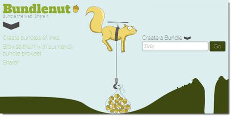 Bundlenut nos permite crear paquetes de enlaces para compartir | Recull diari | Scoop.it