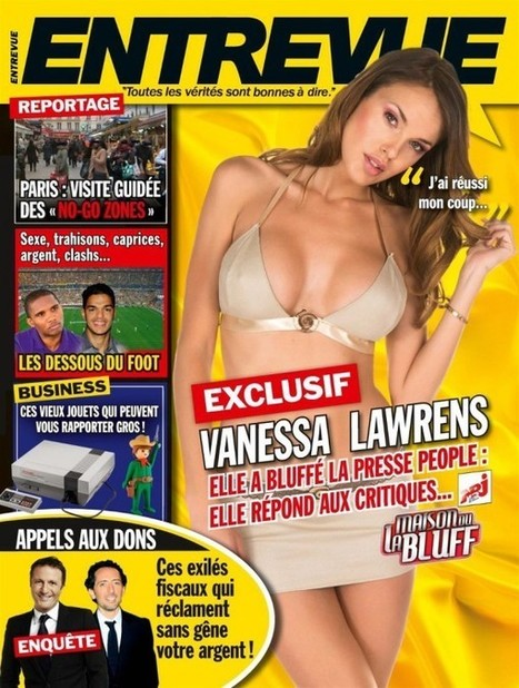 Photos 2015 : Vanessa Lawrens nue dans Entrevue | Radio Planète-Eléa | Scoop.it