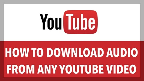 How to Download Audio from any Youtube Video | Android Hacking | Scoop.it