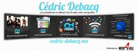 cedric-debacq.me - Web Design, Photographer, Digital - Moulins, France | Facebook | Le Web une richesse à partager par Cédric DEBACQ | Scoop.it